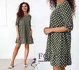 """Женское платье в белый горошек """"Алсу"""", фото 4"""