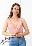 """Летняя блузка на тонких бретельках """"Argo"""", фото 8"""