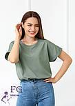 """Річна блузка футболка вільного крою """"Moment"""", фото 2"""