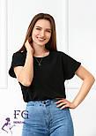 "Летняя блузка футболка свободного кроя ""Moment"", фото 3"