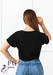 "Летняя блузка футболка свободного кроя ""Moment"", фото 4"