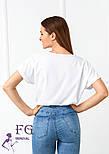"Летняя блузка футболка свободного кроя ""Moment"", фото 7"