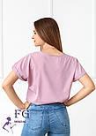 "Летняя блузка футболка свободного кроя ""Moment"", фото 9"