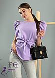 "Стильная блуза с короткими рукавами фонарик ""Betty"", фото 7"