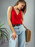 """Модная женская блузка без рукавов """"Polina"""", фото 4"""