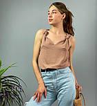 """Модная женская блузка без рукавов """"Polina"""", фото 5"""
