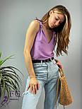 """Модная женская блузка без рукавов """"Polina"""", фото 8"""