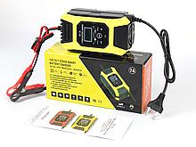 Импульсное автоматическое автомобильное зарядное устройство Foxsur 12V/7A