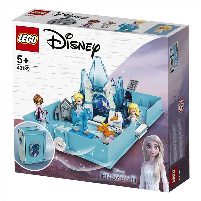 Lego Disney Princesses - Книга пригод Ельзи і Нока (Elsa and the Nokk Storybook, 125 дет), 5+ (43189)