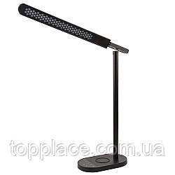 Настольная лампа Lightrich S3 c беспроводной зарядкой, Black