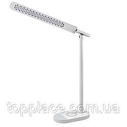 Настольная лампа Lightrich S3 c беспроводной зарядкой, White