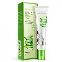 Гель для кожи вокруг глаз с Алое Вера увлажняющий Refresh&Moisture Aloe Vera 92% Eye Gel BIOAQUA , 20 мл