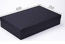 Подарочная коробка Grand черная 40x25x8см