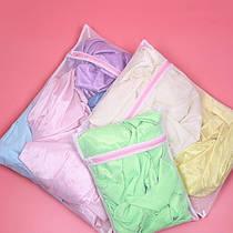 Набір сітчастих мішків для прання на блискавці Supretto 3 шт