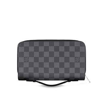 Бумажник Louis Vuitton Zippy XL Damier Graphite