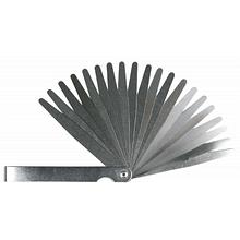 Набор инструментов Topex щупов измерительных 0,05 до 1 мм, 20 пластин, шаг 0.05мм (97X272)