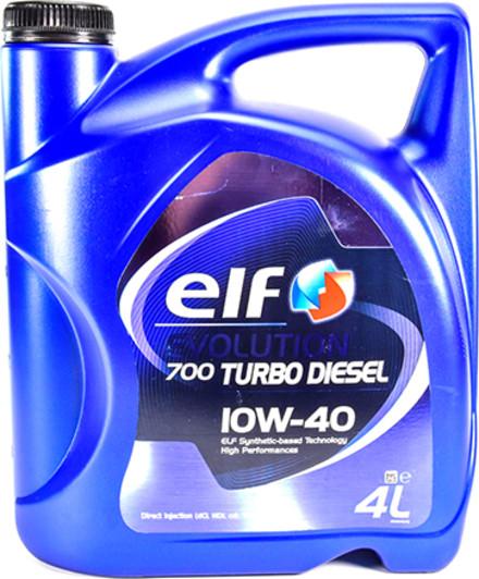 Моторное масло Elf Evolution 700 Turbo Diesel 10W-40 4л (194862)