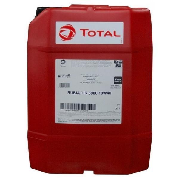 Моторное масло Total Rubia TIR 8900 10W-40 20л (160777)