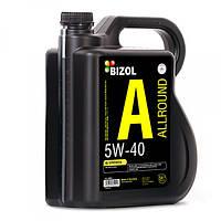 Синтетическое моторное масло -  BIZOL Allround 5W-40 5л