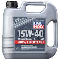Мінеральне моторне масло - MoS2 Leichtlauf SAE 15W-40 4 л.