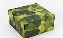 Подарочная коробка Камуфляж 20х20х10 см