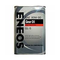 Трансмиссионное масло ENEOS Gear Oil GL-5 80W-90  0.940л (ENGO80W90-1)