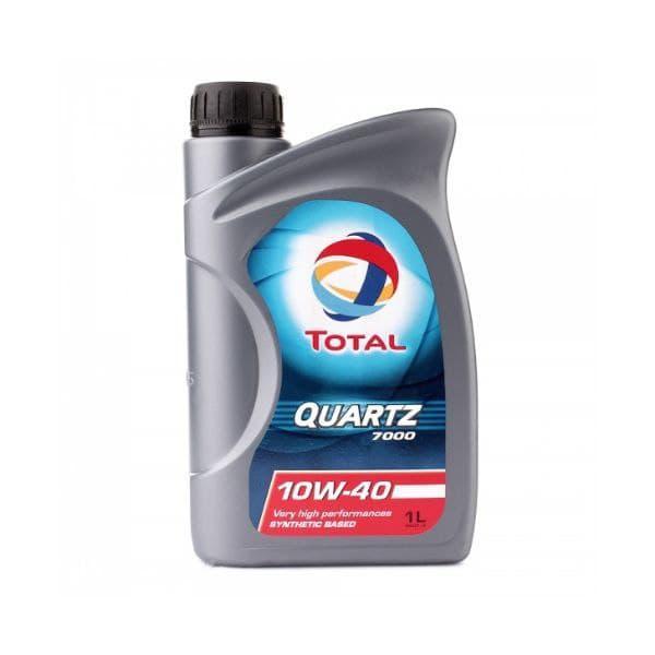 Моторное масло Total Quartz 7000 Diesel 10W-40  1л  (214111)