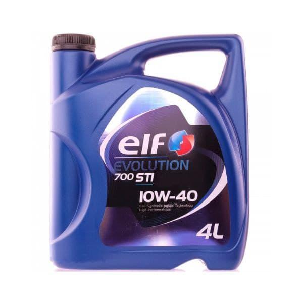 Моторное масло Elf Evolution 700 STI 10W-40  4л  (214120)