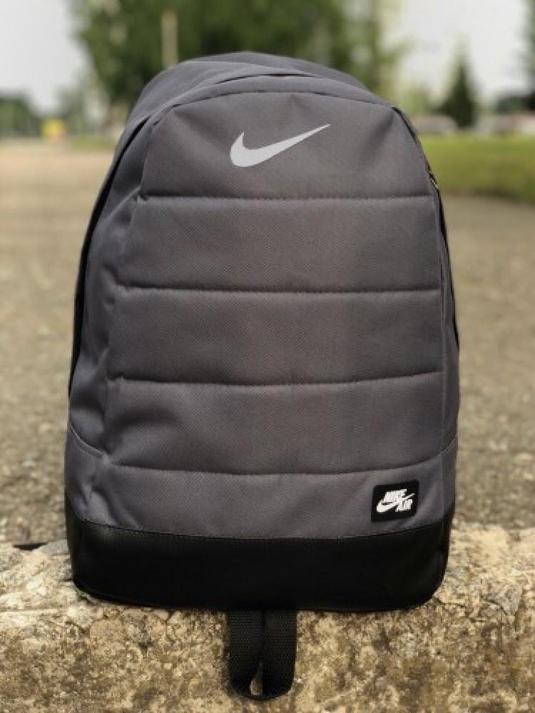 Рюкзак Nike AIR репліка (Найк) Сірий