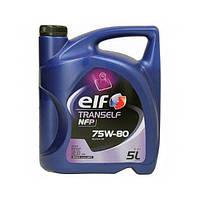 Трансмиссионное масло Elf Tranself NFP 75W-80  5л  (213995)
