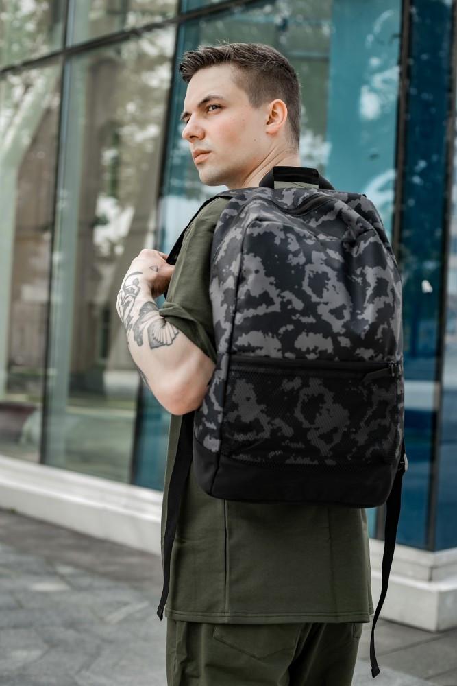 Рюкзак Intruder сірий камуфляж