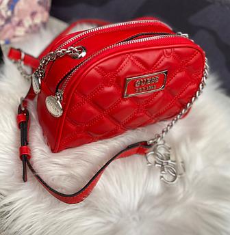 Женская сумка Guess Bag красная