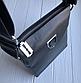 Чоловіча шкіряна сумка-месенджер Philipp Plein black, фото 3