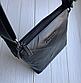 Чоловіча шкіряна сумка месенджер Burberry black, фото 3