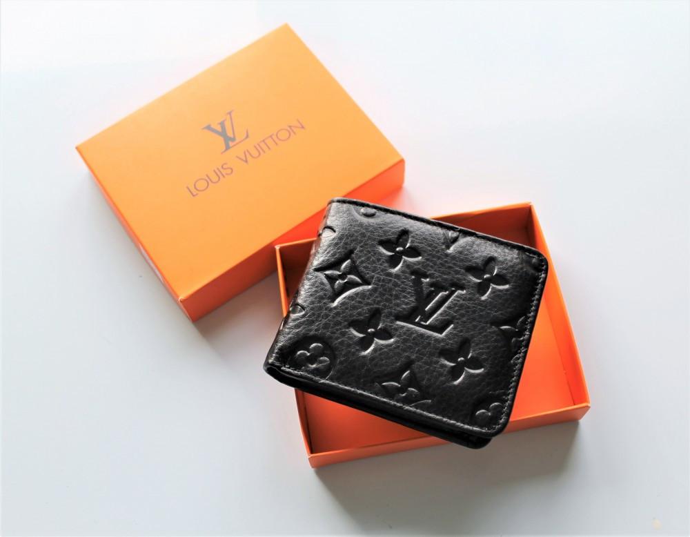 Мужской кошелек Louis Vuitton черный