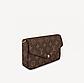Клатч Louis Vuitton Felicie Monogram, фото 3