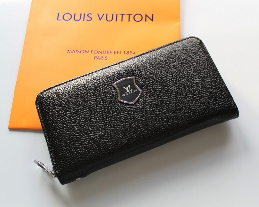 Місткий гаманець Louis Vuitton black