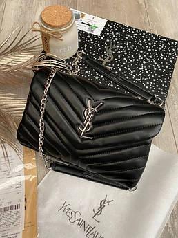 Женская топовая сумка Yves Saint Laurent black