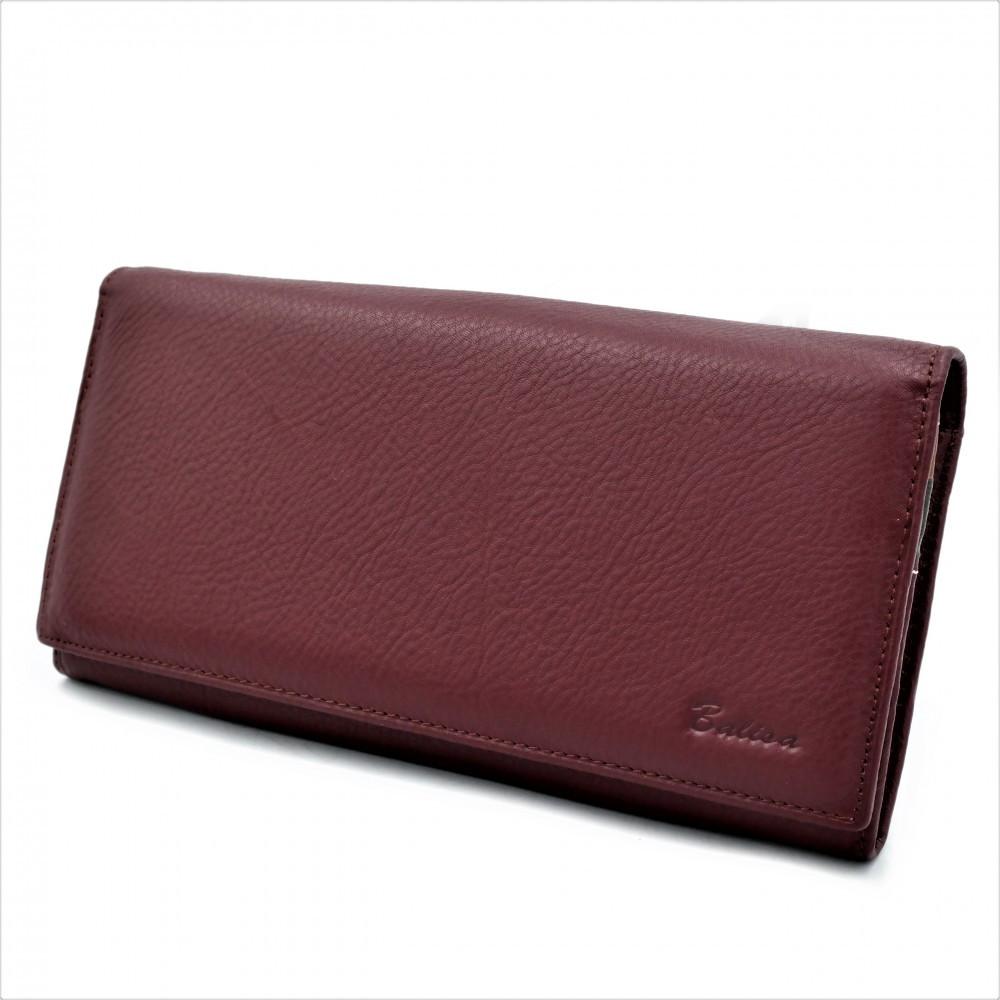Жіночий шкіряний гаманець Weatro 1013-B149-6 Марсала