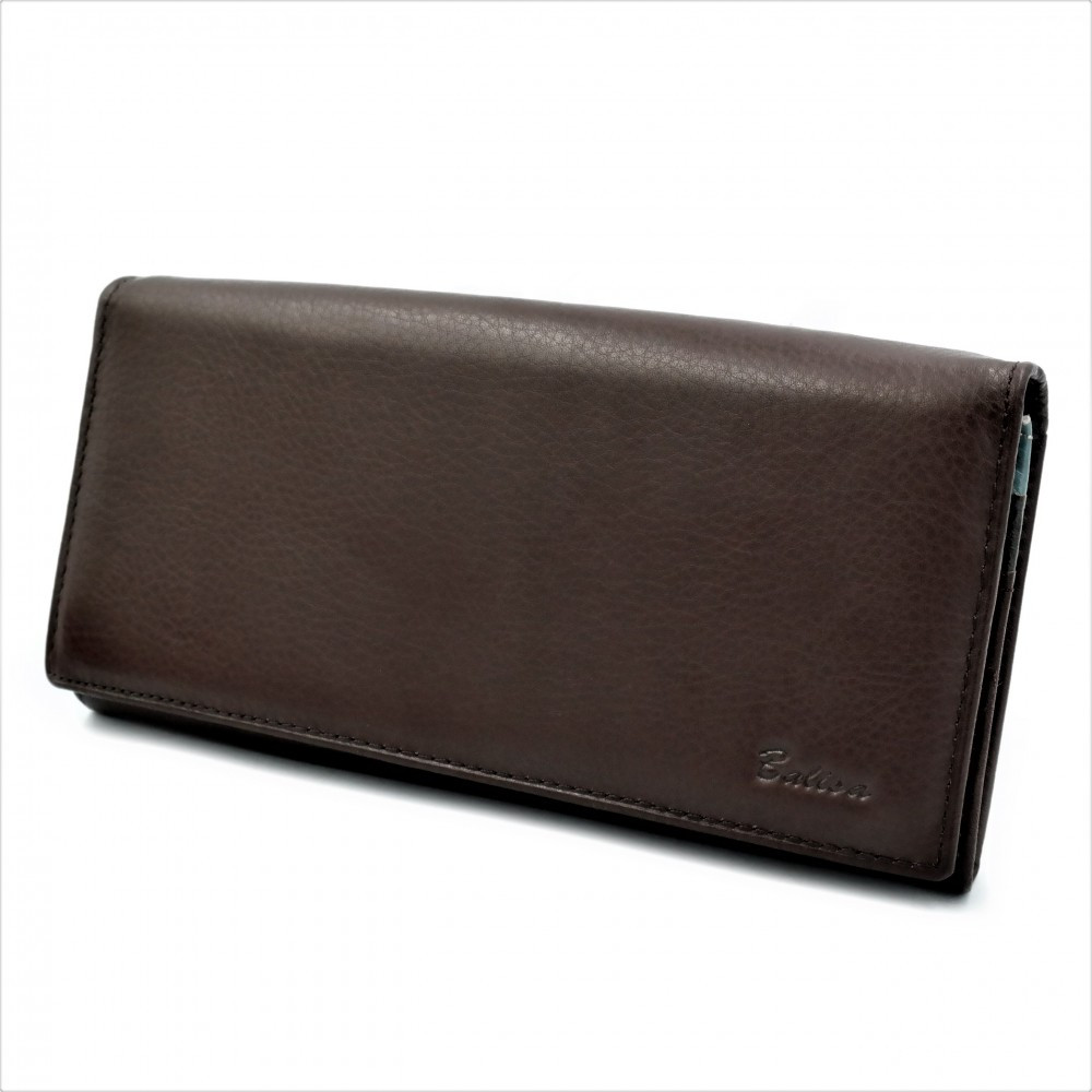 Жіночий шкіряний гаманець Weatro 1013-B149-5 Коричневий