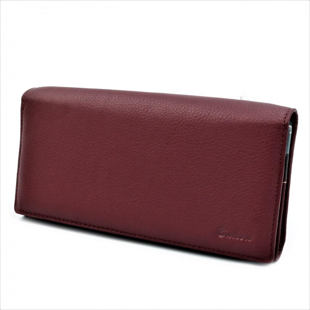 Женский кожаный кошелек Weatro 583-B149-3 Марсала
