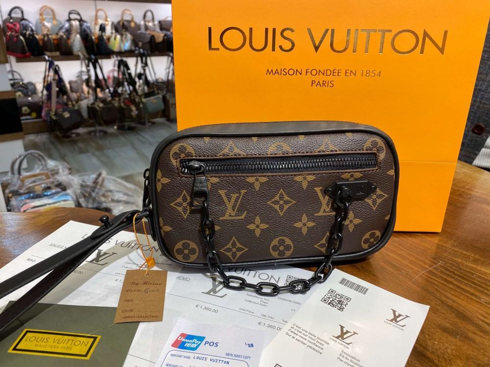 Сумка - барсетка Louis Vuitton Soft Trunk Mini Monogram