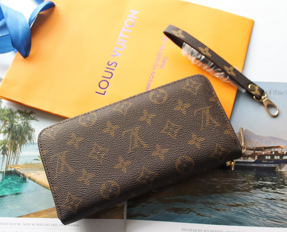 Жіночий гаманець Louis Vuitton brown