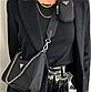 Женская сумка Prada Nylon Shoulder Bag Black, фото 3