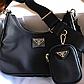 Женская сумка Prada Nylon Shoulder Bag Black, фото 4