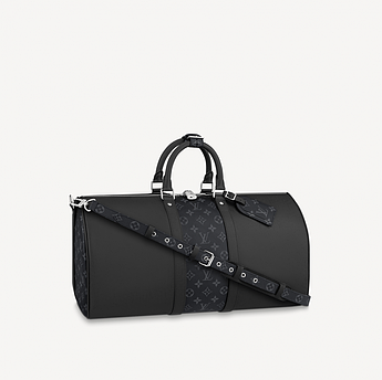 Саквояж Louis Vuitton Keepall 50 Bandouliere Taiga