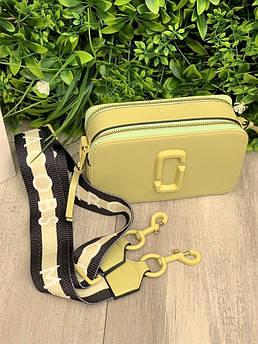 Женская сумка Marc Jacobs Snapshot olive