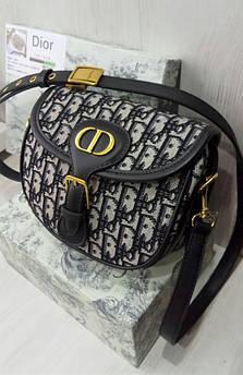 Женская сумка Medium Dior Bobby bag black