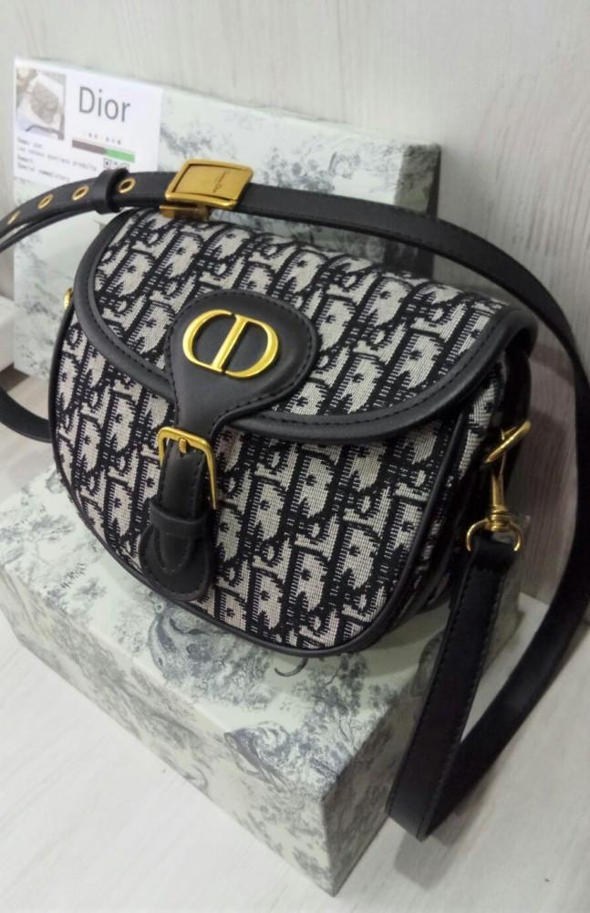 Жіноча сумка Medium Dior Bobby bag black