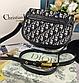 Жіноча сумка Medium Dior Bobby bag black, фото 7